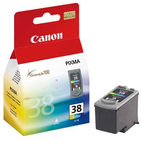 Canon CL-38 Color Baja Capacidad Original IP1800 IP2600 MP220 CL38 2146B001