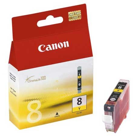 Canon CLI-8Y Amarillo Original CLI8Y 0623B001 IP4200 IP6700D MP600 MX850