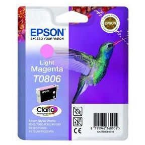 Epson T0806 Light Magenta Original STYLUS PHOTO R265 R360 RX560 C13T080640