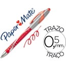 Boligrafo Papermate FLEXGRIP ELITE Retractil ROJO