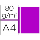 Papel color fucsia intenso A4 80gr 100 Hojas