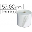 Rollo de papel Termico 57 x 60 mm