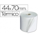 Rollo de papel Termico 44 x 70 mm