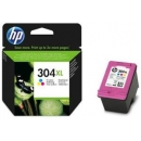 HP 304XL TRICOLOR ALTA CAPACIDAD ORIGINAL N9K07AE