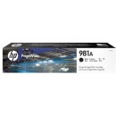 HP 981A J3M71A Negro PageWide 556 / 586