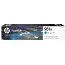 HP 981A J3M68A Cian PageWide 556 / 586