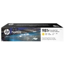 HP 981Y L0R15A Amarillo PageWide 556 / 586