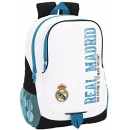 Mochila Real Madrid de 32cm Adaptable a carro. Temporada 17-18. Safta 611754665