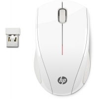 HP Raton inalambrico X3000 Mini portatil (9cm aprox) Blanco