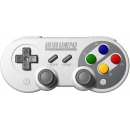 Gamepad 8bitdo SF30 Pro Bluetooth, gris, estilo retro SNES