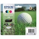 PACK 4 Colores Epson 34 Original C13T34664010