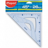 ESCUADRA MAPED GEOMETRIC 26CM