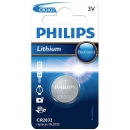 Pila Boton de Litio CR2032 Philips 3V