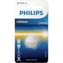 Pila Boton de Litio CR2025 Philips 3V