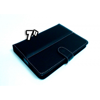"Funda Tablet 7"" Negra, estilo cartera"