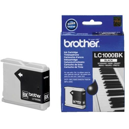Brother LC1000BK Negro Tinta Original