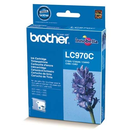 Brother LC970C Cyan Tinta Original LC-970C