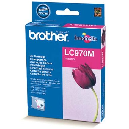 Brother LC970M Magenta Tinta Original LC-970M