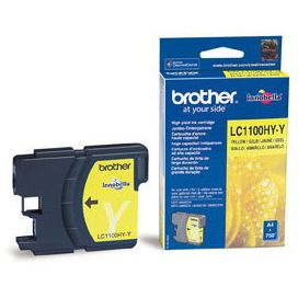 Brother LC1100Y Amarillo Tinta Original