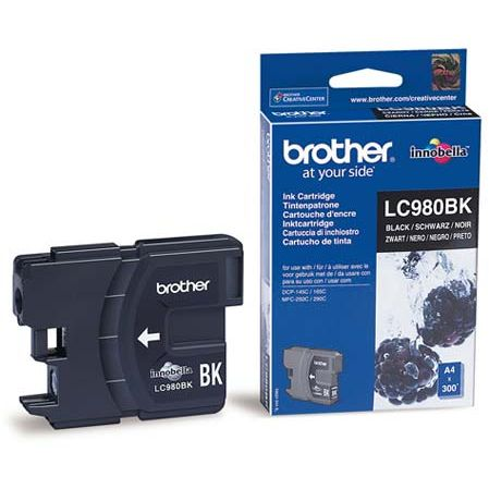Brother LC980BK Negro Original LC-980BK