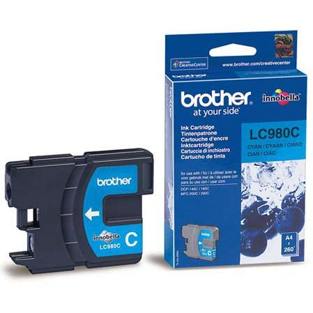 Brother LC980C Cyan Original LC-980C