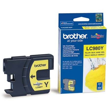 Brother LC980Y Amarillo Original LC-980Y