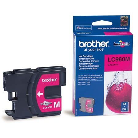 Brother LC980M Magenta Original LC-980M