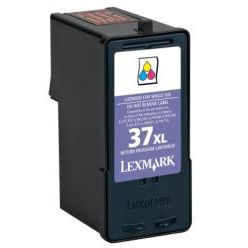 Lexmark 37XL Remanufacturado Color 18C2180 18C2200 ALTA CAPACIDAD