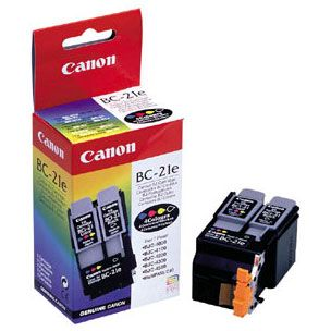 Canon BC-21e Cabezal Color con Negro y Color Original Ink Tanks