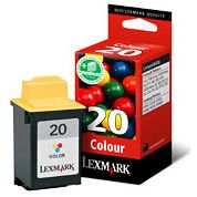 Lexmark 20 Color Original Z42 Z53 X80 F4270 15MX120E