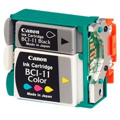 Canon BC-11e Cabezal Color con 3 Pack Color Original Ink Tanks