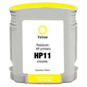 HP 11 Amarillo Compatible C4838AE