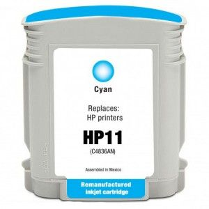 HP 11 Cyan Alternativo C4836AE