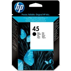 HP 45 Negro ORIGINAL 51645GE