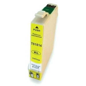 Epson 18XL Amarillo Reciclado Compatible T1814 T1804