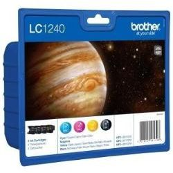 PACK Original Brother LC1240VALBP Colores MFCJ6510 MFCJ6710 MFCJ6910 LC-1240VALBP