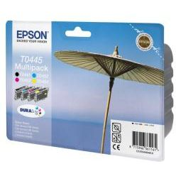 PACK 4 Colores Epson T0445 Original C13T044540 C84 CX6400