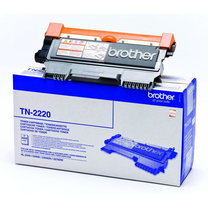 Brother TN2220 Negro Toner Original ALTA CAPACIDAD HL2240 HL2250 MFC7360 TN-2220