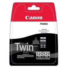 PACK 2 Canon PGI-525 PGI-525PGBK Negro Original PGI525 4529B010 MG5150 IP4850 MX885 MG8150