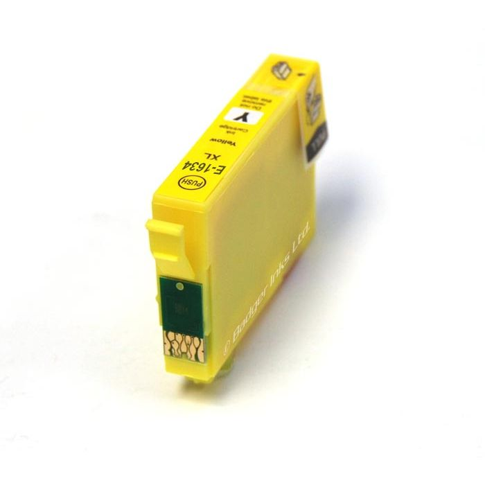 Epson 16XL Amarillo T1634 T1624 Alternativo C13T16344010 C13T16244010