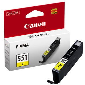Canon CLI-551Y Amarillo Original 6511B001 MG5450 MG6350 IP7250