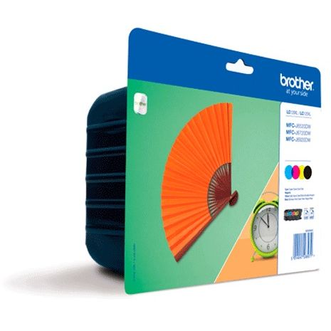 PACK 4 Colores Brother LC129XLVAL Original MFCJ6720DW MFCJ6920DW LC-129XLVAL