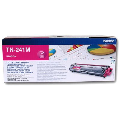 Brother TN241M Magenta ALTA CAPACIDAD Toner Original TN-241M HL3140CW HL3150CDW