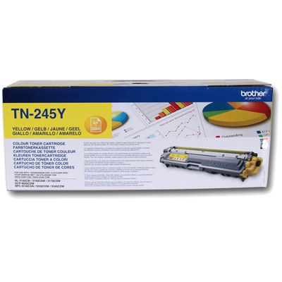 Brother TN245Y Amarillo Toner Original TN-245Y HL3140CW HL3150CDW