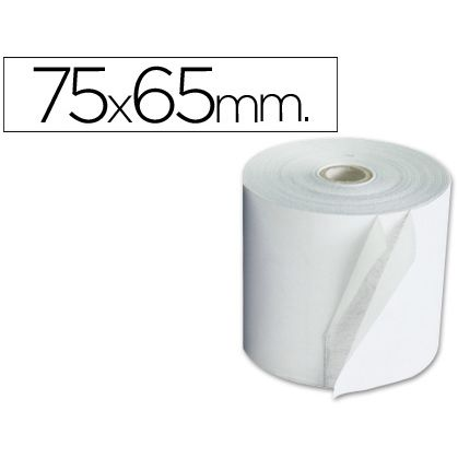 Rollo de papel Electra 75 x 65 mm