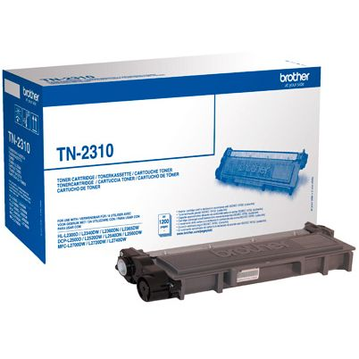 Brother TN2310 Original Negro Toner TN-2310