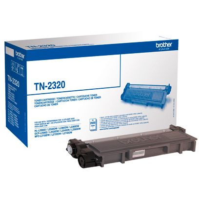 Brother TN2320 Original Negro Toner ALTA CAPACIDAD TN-2320
