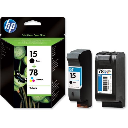 PACK HP 15 + HP 78 Original Negro + Tricolor SA310AE
