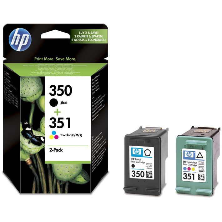 PACK HP 350 + HP 351 Negro y Color Original SD412EE