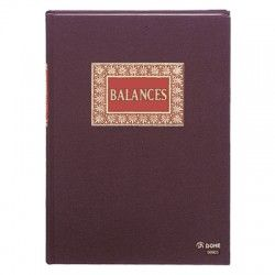 LIBRO BALANCES FOLIO NATURAL DOHE 09903